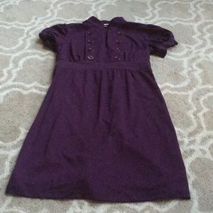Purple comfy dress